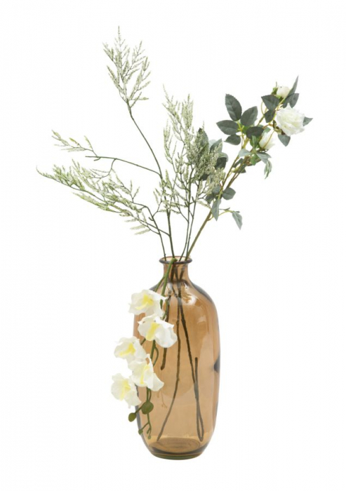 Vaza FAT, galben, 13X31 cm, Mauro Ferretti 3