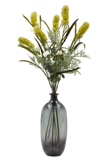 Vaza FAT, gri, 19X45 cm, Mauro Ferretti  3