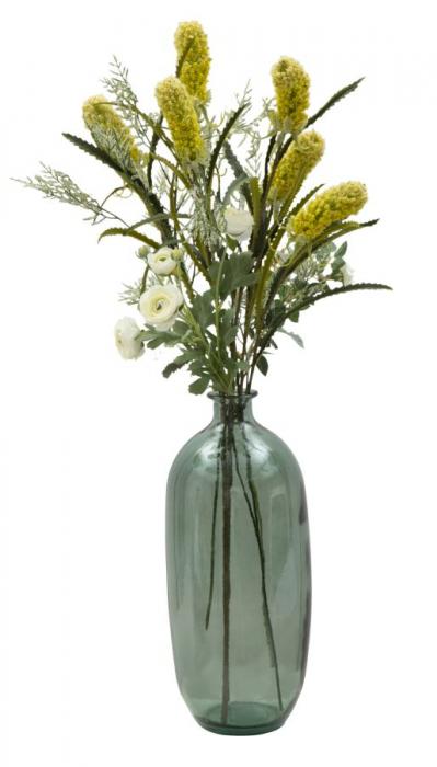 Vaza FAT, verde, 19X45 cm, Mauro Ferretti  3