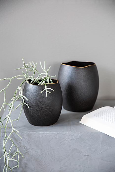 Vaza KALEA, ceramica, 16.5 x 18 cm [0]