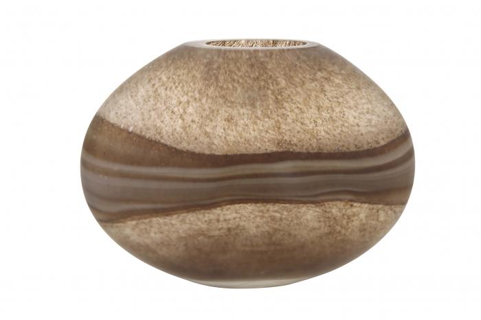 Vaza MONDO, sticla, 32.5x10x24 cm 0