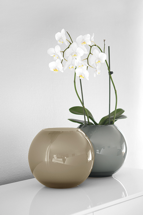 Vaza MOON, sticla, 25X21 cm 1