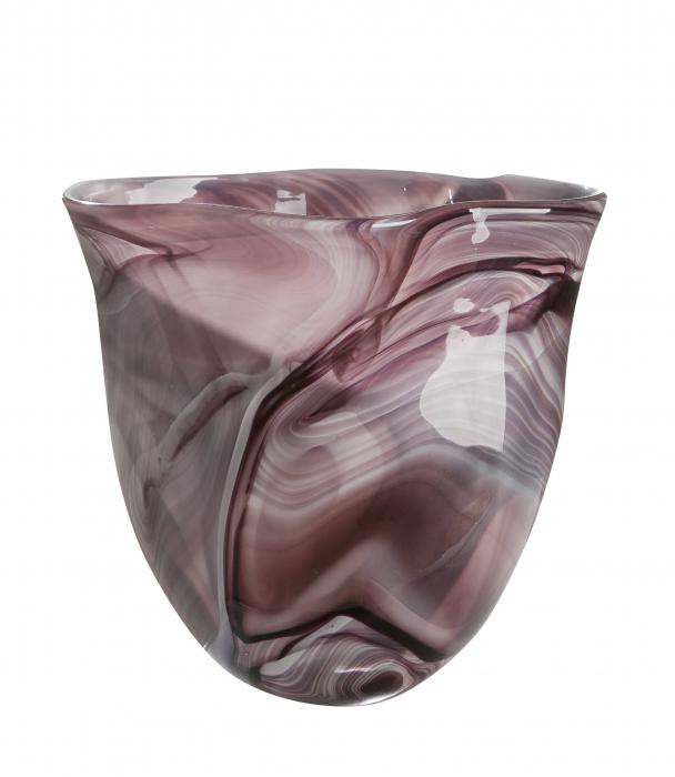 Vaza NUVOLA, sticla, 31x19x31 cm 1