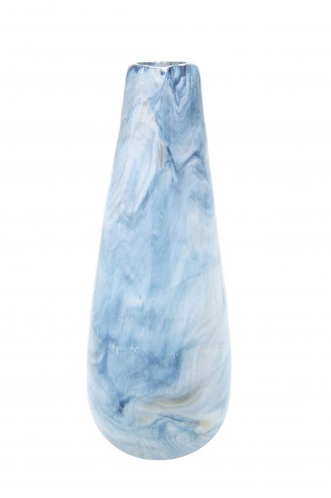 Vaza PELAGE, sticla, 16.5x40 cm lotusland.ro