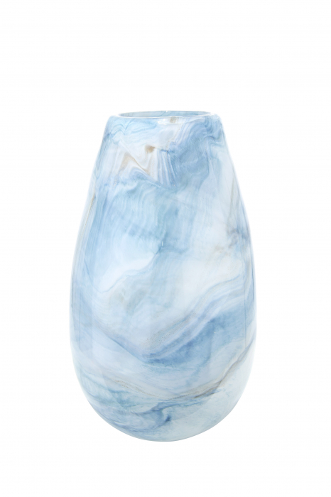 Vaza PELAGE, sticla, 17x30.5 cm lotusland.ro