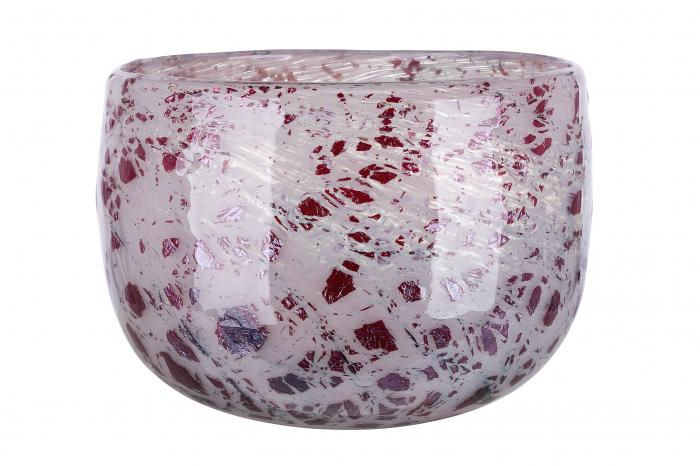 Vaza ROSE, sticla, 22x14.5 cm 1