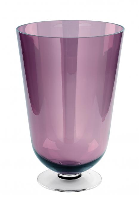 Vaza ROYAL, sticla, 50 x 33 cm lotusland.ro