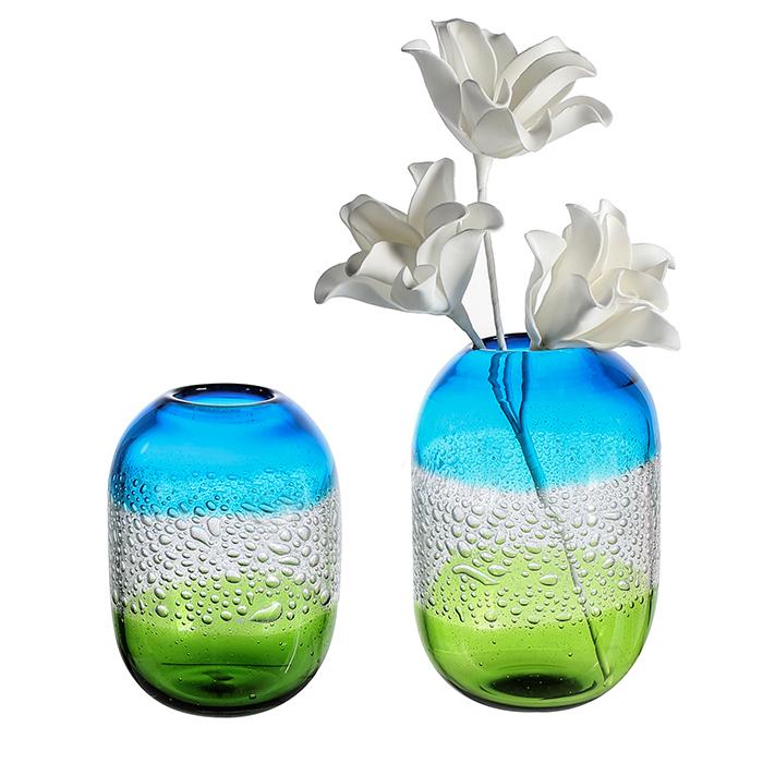 Vaza SIERRA, sticla, 21x15 cm [0]