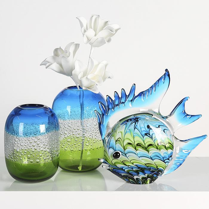 Vaza SIERRA, sticla, 21x15 cm [2]
