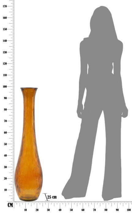Vaza SLIM, portocaliu, 25X99 cm, Mauro Ferretti  8