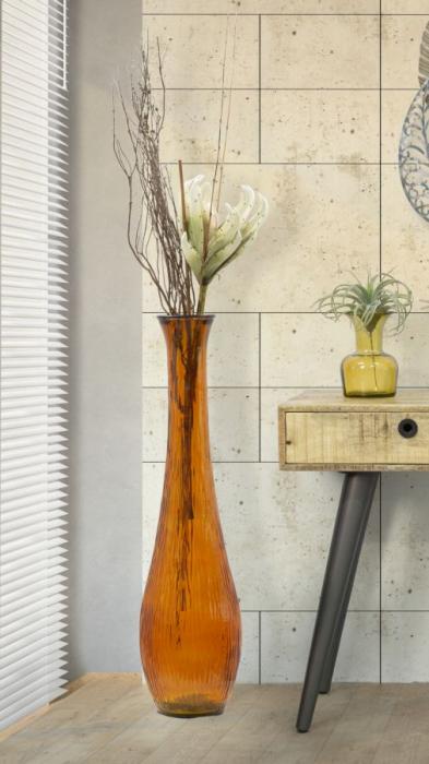 Vaza SLIM, portocaliu, 25X99 cm, Mauro Ferretti  6