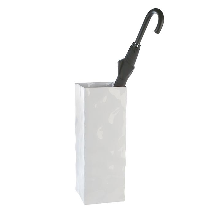 Vaza suport umbrela Move ceramica, alb , inaltime 50 cm imagine 2021 lotusland.ro