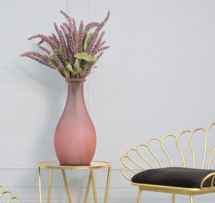 Vaza TROY, roz, 21X40 cm, Mauro Ferretti  6