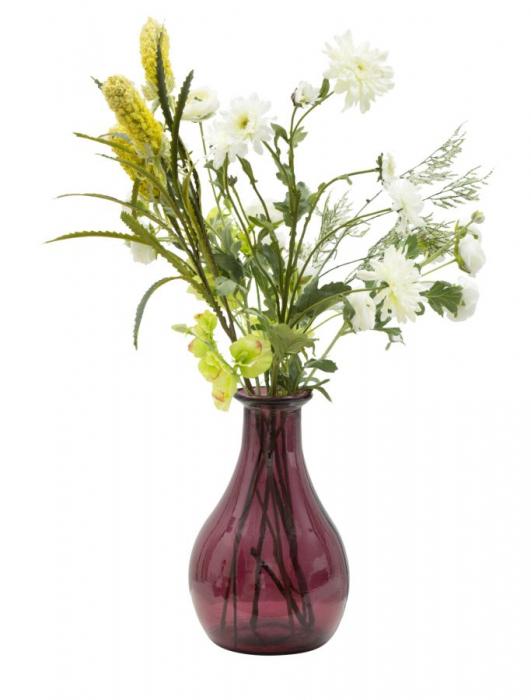 Vaza TROY, violet, 20X31 cm, Mauro Ferretti  3
