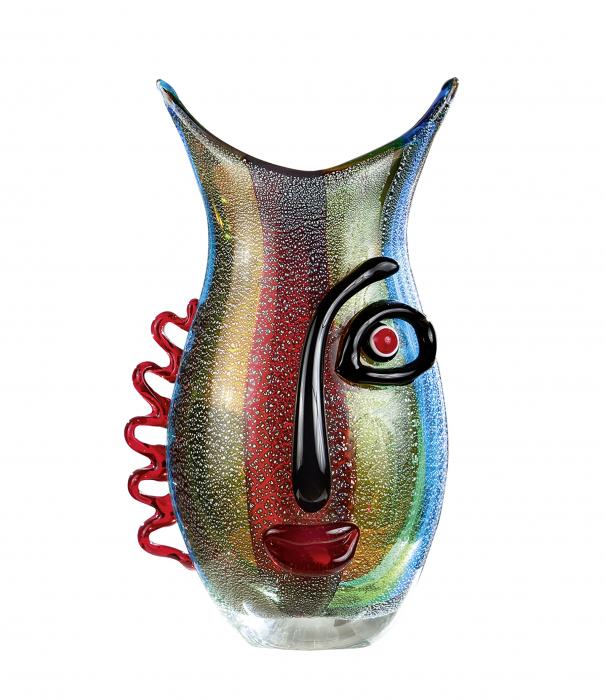 Vaza VISTA, sticla, 12x18x32 cm 1