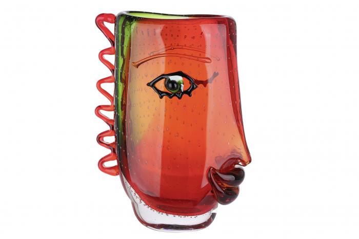 Vaza VISUALE, sticla, 13x22x31 cm 0