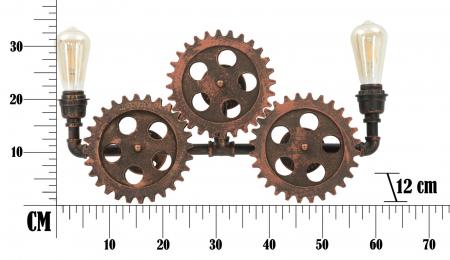 Aplica INGRANAGGIO (cm) 60X12X327