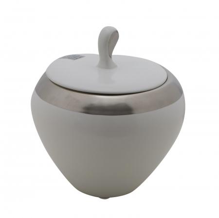 Bol ceramic cu capac LUTTICH (cm) Ø 14X154