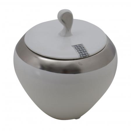 Bol ceramic cu capac LUTTICH (cm) Ø 14X155