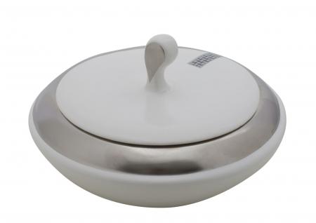 Bol ceramic cu capac LUTTICH (cm) Ø 20,5X11,50