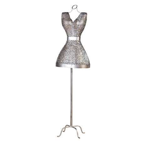 Bust PURLEY, metal, 155 x 41 cm0