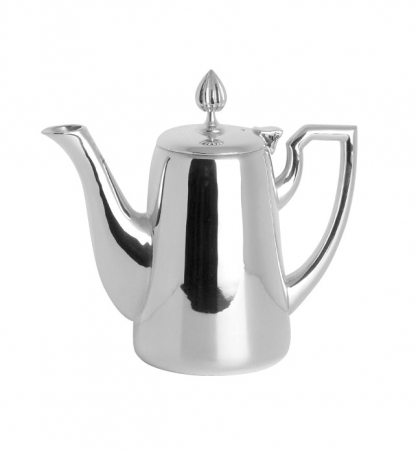 Cafetiera VIENNA, placata cu argint, 15 cm0
