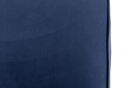 Canapea Chesterfield, 2 locuri, Albastru, 150x80x86 cm8