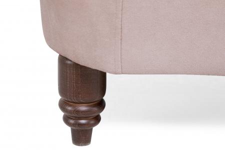 Canapea Chesterfield, 2 locuri, Roz, 150x80x86 cm7