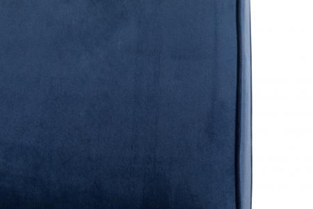 Canapea Chesterfield, 3 locuri, Albastru, 203x80x86 cm8