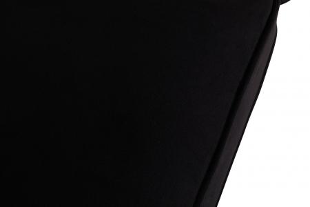 Canapea Chesterfield, 4  locuri, Negru, 238x80x86 cm6