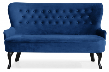 Canapea Diana 3H, Albastru, 140x86x67 cm0