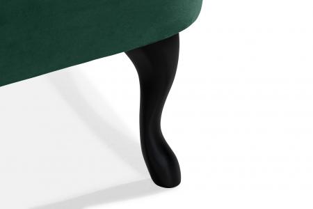 Canapea Diana 3H, Verde inchis, 140x86x67 cm7
