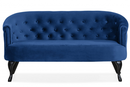 Canapea Mada, Albastru, 140x74x68 cm0