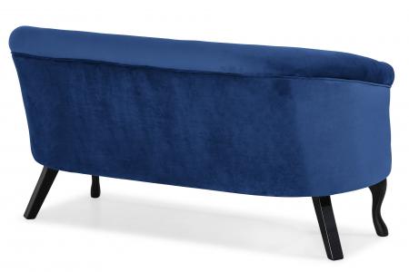 Canapea Mada, Albastru, 140x74x68 cm3