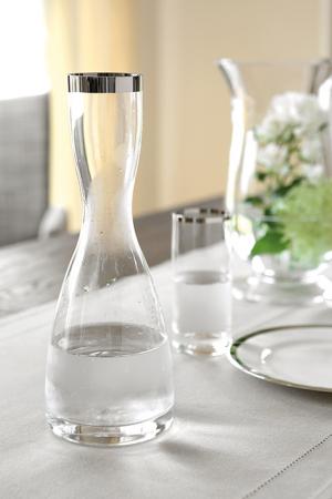 Carafa PLATINUM, sticla, 30 cm2