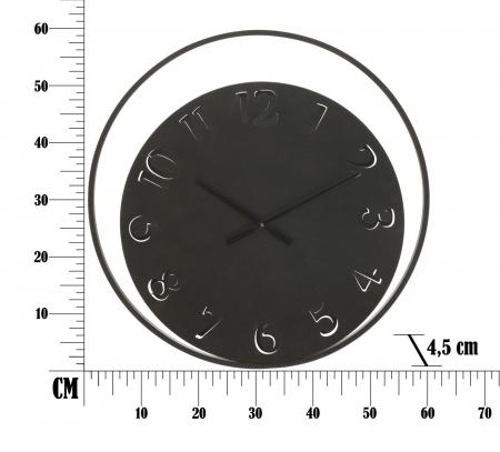 Ceas de perete CIRCLE, 60X4.5 cm, Mauro Ferretti 5