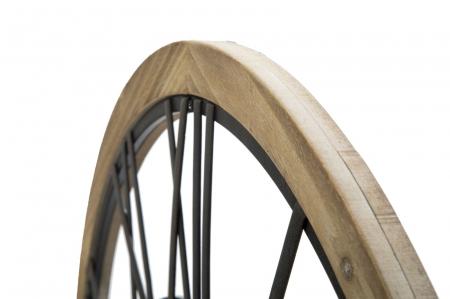 Ceas de perete INDUSTRY, 70X5 cm, Mauro Ferretti [3]