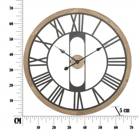 Ceas de perete INDUSTRY, 70X5 cm, Mauro Ferretti [5]