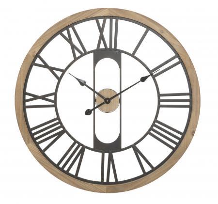 Ceas de perete INDUSTRY, 70X5 cm, Mauro Ferretti [0]
