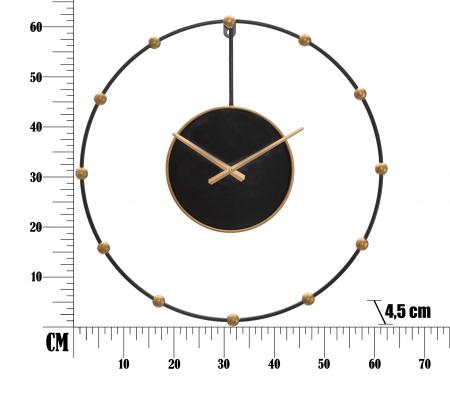 Ceas de perete PEARL CM Ø 61X4,5, Mauro Ferretti5