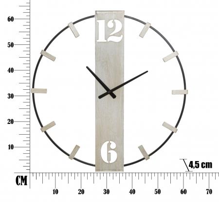 Ceas de perete SILVERY CM 61X4,5X63, Mauro Ferretti [6]
