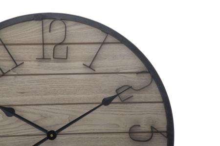 Ceas de perete WOOD, 60X4.5 cm, Mauro Ferretti 1