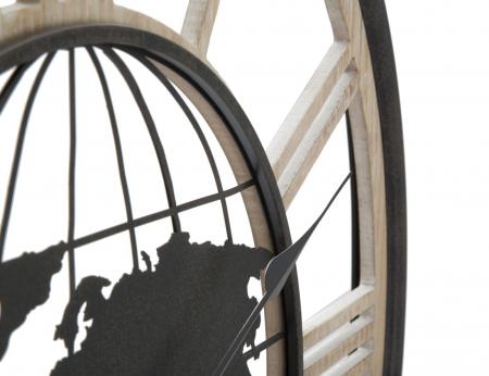 Ceas de perete WORLD, 70X5 cm, Mauro Ferretti2