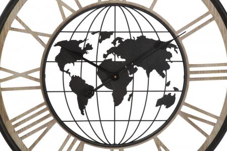 Ceas de perete WORLD, 70X5 cm, Mauro Ferretti1