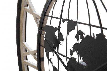 Ceas de perete WORLD, 70X5 cm, Mauro Ferretti3