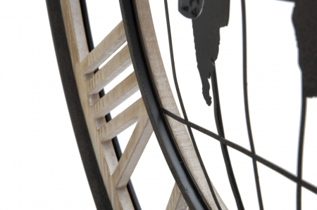 Ceas de perete WORLD, 70X5 cm, Mauro Ferretti4