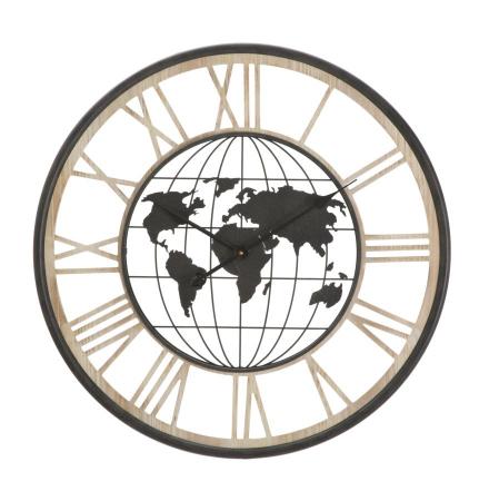 Ceas de perete WORLD, 70X5 cm, Mauro Ferretti0