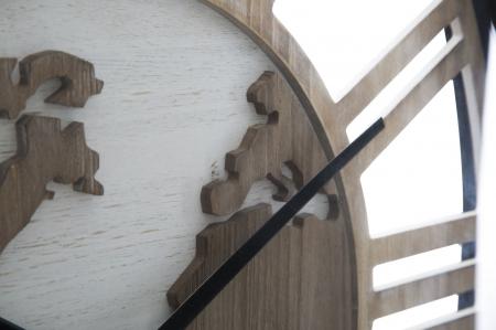 Ceas de perete WORLD CLASS, 60X6 cm, Mauro Ferretti 3