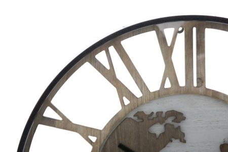 Ceas de perete WORLD CLASS, 60X6 cm, Mauro Ferretti 1