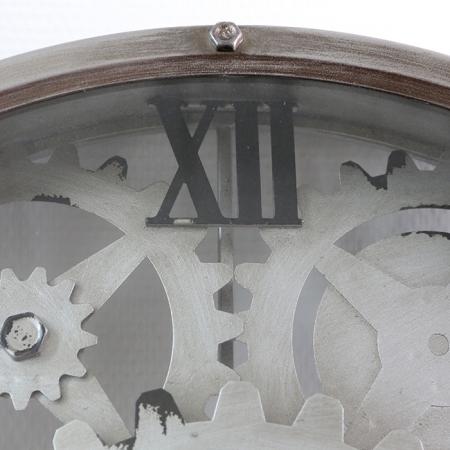 Ceas de perete LOFT, metal, 60x8 cm2